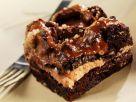 Brownie mit Karamellcreme Rezept