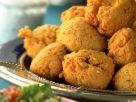 Buchweizenbällchen nach arabischer Art dazu Blattsalat Rezept