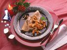 Buchweizenpfannkuchen mit Pfifferlingen Rezept