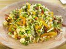 Bulgur mit Soja, Brokkoli und Blumenkohl Rezept