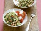 Bulgur-Tomaten-Salat mit Feta Rezept
