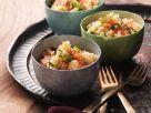 Bulgur-Tomaten-Salat mit Zitronen-Kräuter-Dressing Rezept