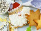Bunt verzierte Weihnachtsplätzchen Rezept