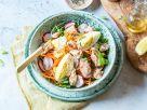 Bunte Bowl mit Lachs und Eiern Rezept