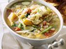 Bunte Gemüsesuppe mit Weißkohl Rezept