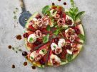 Bunte Melonen-Pizza Rezept
