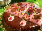 Bunter Käfer-Kuchen Rezept