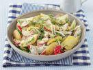 Bunter Kartoffelsalat mit Rüben und Gurke Rezept