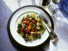 Bunter Salat mit Pfifferlingen Rezept
