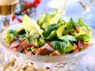 Bunter Salat mit Pute Rezept