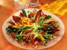 Bunter Salat mit Pute und Mango Rezept