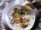 Bunter Salat mit Reh Rezept