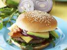 Burger mit Avocado und Speck Rezept