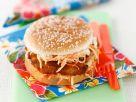 Burger mit Fisch und Krautsalat Rezept
