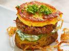Burger mit Rind und Kartoffeln Rezept
