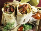 Burritos mit Bohnenfüllung Rezept
