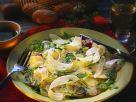 Capaccio mit Kartoffeln, Rettich und Radieschen Rezept