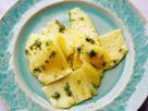 Carpaccio von der Ananas mit Minzpesto Rezept