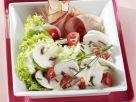 Champignon-Salat mit Schwarzwälder Schinken Rezept