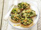 Champignons gefüllt mit Rucola und Gorgonzola Rezept