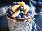 Chiapudding mit Heidelbeeren und Bananen Rezept