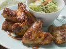 Chicken Wings süß-sauer mariniert und Kohlsalat Rezept