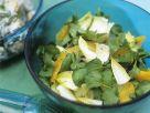 Chicorée mit Brunnenkresse, Orangen und Petersilie Rezept