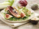Chicorée vom Grill mit Rucola und Feigen Rezept
