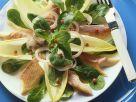 Chicoréesalat mit Räucherforelle Rezept