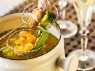 Chiesisches Fondue mit Brühe Rezept