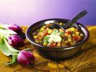 Chili sin Carne mit Sojabohnen Rezept