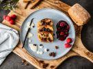 Ciabatta goes Franzbrötchen mit Roter Grütze Rezept