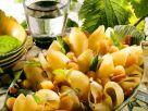 Conchiglione-Salat mit Speck und Melone Rezept