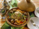 Couscous mit Gemüse und Lammfleischbällchen Rezept