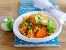 Couscous mit Joghurt und Gemüse Rezept