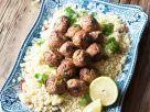 Couscous mit Lammhackklößchen Rezept