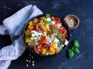 Couscous mit mariniertem Mozzarella Rezept