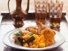Couscous mit Poularde Rezept