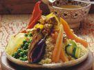 Couscous mit verschiedenem Gemüse und Lamm Rezept