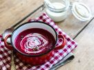 Cremige Rote Bete Suppe Rezept