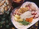 Deftiger Fleischeintopf mit Reis Rezept