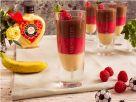 Deutschland Panna Cotta 'Schwarz Rot Gold' Rezept