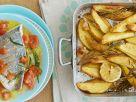 Dorade mit Ofenkartoffeln Rezept