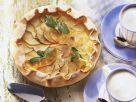 Einfacher Apfelkuchen aus Mürbeteig Rezept