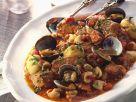 Eintopf mit Muscheln und Schwein auf portugiesische Art Rezept