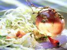 Eisbergsalat mit eingelegten Chili-Rum-Eiern Rezept