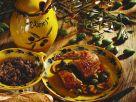 Ente mit Oliven gefüllt Rezept
