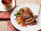 Entenbraten mit Couscous Rezept