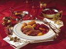Entenbrust à l'orange mit Cranberries Rezept