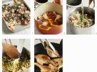 Entenconfit auf Flageoletbohnen zubereiten Rezept